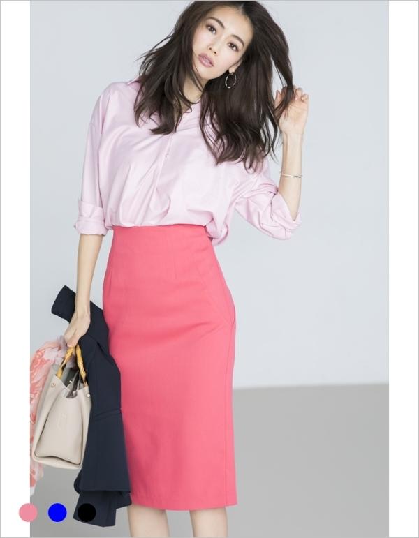 【カタログ掲載】ロングタイトスカート