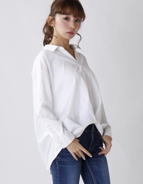【カタログ掲載】フロントタックシャツ