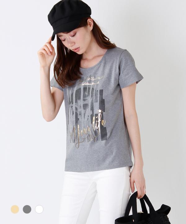 女の子プリントTシャツ