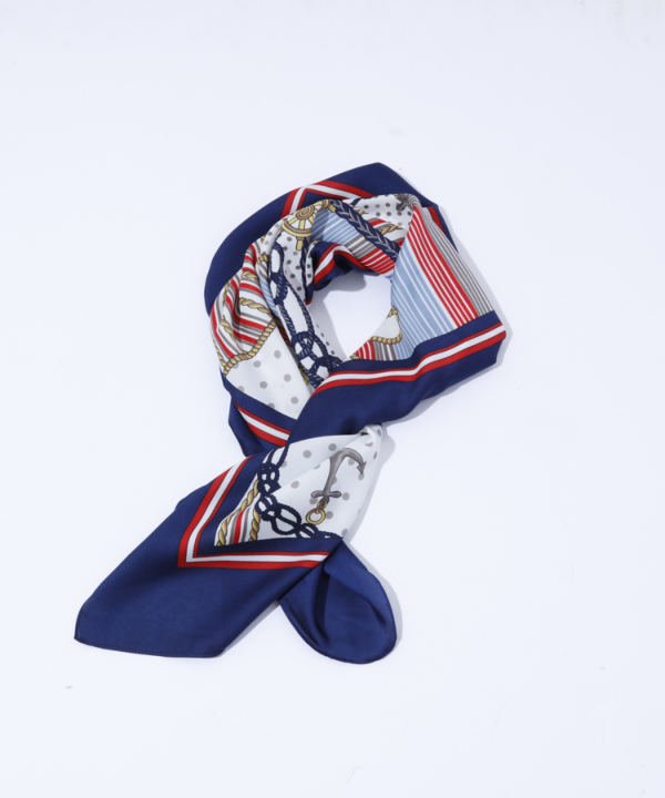 マリンドットスカーフ